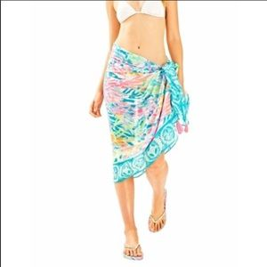 Lilly Pulitzer- seaspray beach wrap